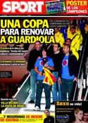 Portada diario Sport del 20 de Diciembre de 2011
