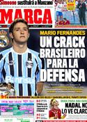 Portada diario Marca del 21 de Diciembre de 2011