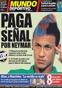 Portada Mundo Deportivo del 21 de Diciembre de 2011