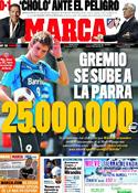 Portada diario Marca del 22 de Diciembre de 2011