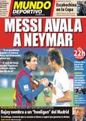 Portada Mundo Deportivo del 22 de Diciembre de 2011