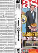 Portada diario AS del 23 de Diciembre de 2011