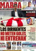 Portada diario Marca del 23 de Diciembre de 2011