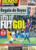 Portada Mundo Deportivo del 23 de Diciembre de 2011