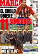 Portada diario Marca del 24 de Diciembre de 2011