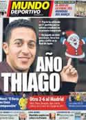 Portada Mundo Deportivo del 27 de Diciembre de 2011