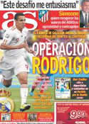 Portada diario AS del 28 de Diciembre de 2011
