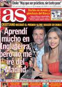 Portada diario AS del 29 de Diciembre de 2011