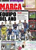 Portada diario Marca del 29 de Diciembre de 2011