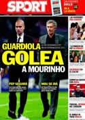 Portada diario Sport del 29 de Diciembre de 2011