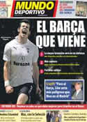 Portada Mundo Deportivo del 29 de Diciembre de 2011