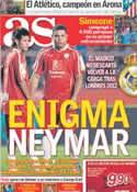 Portada diario AS del 30 de Diciembre de 2011