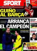 Portada diario Sport del 30 de Diciembre de 2011