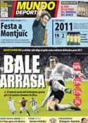 Portada Mundo Deportivo del 30 de Diciembre de 2011