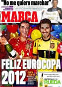 Portada diario Marca del 31 de Diciembre de 2011