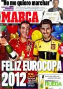 Portada diario Marca del 31 de Diciembre de 2011