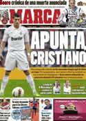 Portada diario Marca del 2 de Enero de 2012