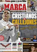 Portada diario Marca del 3 de Enero de 2012