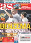 Portada diario AS del 4 de Enero de 2012