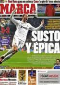 Portada diario Marca del 4 de Enero de 2012