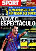 Portada diario Sport del 4 de Enero de 2012