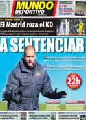 Portada Mundo Deportivo del 4 de Enero de 2012