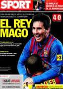Portada diario Sport del 5 de Enero de 2012
