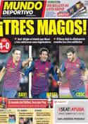 Portada Mundo Deportivo del 5 de Enero de 2012