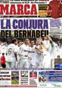 Portada diario Marca del 6 de Enero de 2012