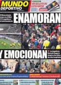 Portada Mundo Deportivo del 6 de Enero de 2012
