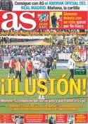 Portada diario AS del 7 de Enero de 2012