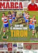 Portada diario Marca del 7 de Enero de 2012