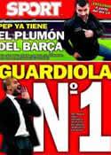 Portada diario Sport del 7 de Enero de 2012