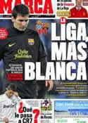 Portada diario Marca del 9 de Enero de 2012