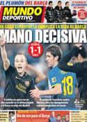 Portada Mundo Deportivo del 9 de Enero de 2012