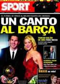 Portada diario Sport del 10 de Enero de 2012