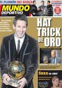Portada Mundo Deportivo del 10 de Enero de 2012
