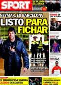 Portada diario Sport del 11 de Enero de 2012