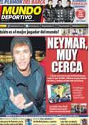 Portada Mundo Deportivo del 11 de Enero de 2012