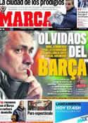 Portada diario Marca del 12 de Enero de 2012