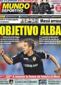 Portada Mundo Deportivo del 12 de Enero de 2012