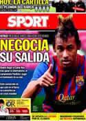 Portada diario Sport del 14 de Enero de 2012