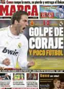Portada diario Marca del 15 de Enero de 2012