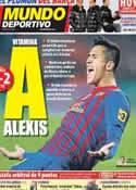 Portada Mundo Deportivo del 16 de Enero de 2012