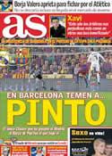 Portada diario AS del 17 de Enero de 2012