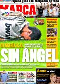 Portada diario Marca del 17 de Enero de 2012