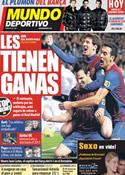 Portada Mundo Deportivo del 17 de Enero de 2012