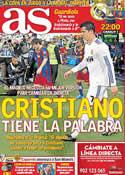 Portada diario AS del 18 de Enero de 2012
