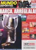 Portada Mundo Deportivo del 18 de Enero de 2012