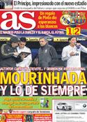 Portada diario AS del 19 de Enero de 2012